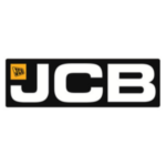 Logo oficial JCB. Proveedor enganches.