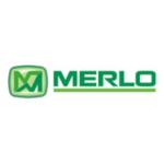 Logo oficial Merlo. Proveedor enganches.