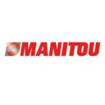 Logo oficial Manitou. Proveedor enganches.