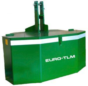 Contrapesos. Aperos agro e industrial EURO-TLM.